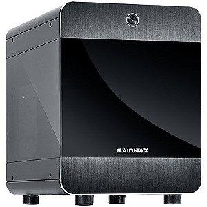Gabinete Cubo Mini ITX ATOMIC 107 Case Preto RAIDMAX