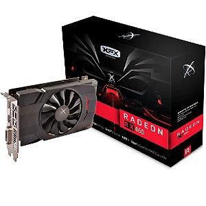 Placa de Vídeo AMD Radeon RX 460 - 4gb DDR5 - 128 Bits XFX RX-460P4SFG5