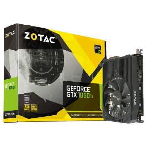 Placa de Vídeo Geforce GTX 1050TI Mini 4gb DDR5 - 128 Bits Zotac ZT-P10510A-10L