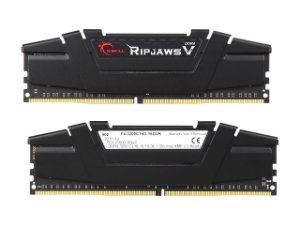 Kit Memória 16gb DDR4 3200 Mhz G.Skill RipJaws F4-3200C16D-16GVK (2X8gb)