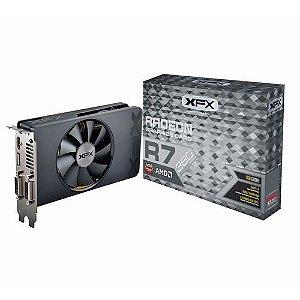 Placa de Vídeo AMD Radeon R7 360 2gb DDR5 - 128 Bits XFX R7-360P-2SF5