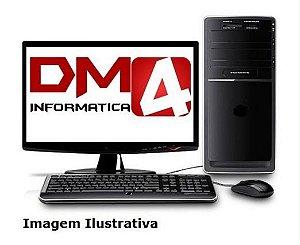 Computador Home Pro Completo AMD Dual Core 3.8 Ghz, 8gb DDR3, HD 1 Tera, Gravador DVD, Kit Teclado e Mouse, Monitor LED 19.5