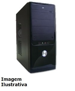 Computador Home AMD Dual Core 3.8 Ghz, 4gb DDR3, HD 1 Tera, Teclado e Mouse Sem Fio