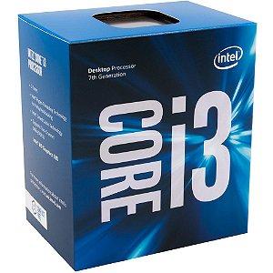 Processador Intel Core I3 Kabylake 7100 - 3.9 Ghz C/ 3Mb Cache BOX LGA 1151 BX80677I37100