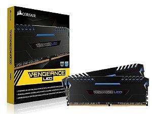 Memoria Desktop Gamer DDR4 Corsair CMU16GX4M2C3200C16B 16GB KIT (2X8GB) 3200MHZ CL16 DIMM Vengeance