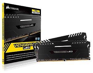 Memória Desktop Gamer DDR4 Corsair CMU32GX4M2C3000C15 Vengeance 32GB KIT (2X16GB) 3000 MHZ CL15 DIMM