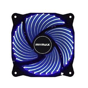Cooler Fan 12CM P/ Gabinete Mymax Storm 2 LED AZUL MYC/FC-12025-33/BL