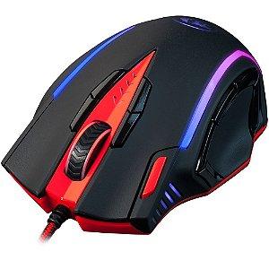 Mouse Laser Gamer Redragon Samsara 16400dpi 13 botões e 8 Ajustes de Peso USB M902