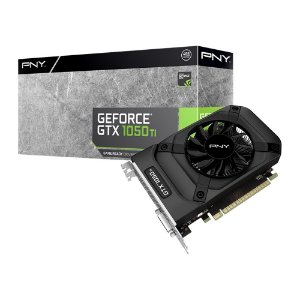 Placa de Vídeo GPU Geforce GTX 1050TI 4gb GDDR5 - 128 Bits PNY VCGGTX1050T4PB