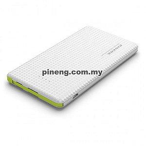 Bateria Externa Portátil Power Bank Pineng 10000mah Pn-951 Branco