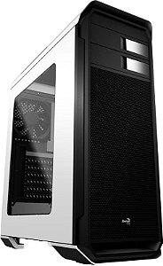 (OFERTA BLACK FRIDAY) Gabinete ATX AeroCool Gamer AERO-500 Acrílico Lateral e USB 3.0 Frontal  EN55583 Branco