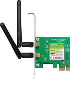Placa de Rede TP-Link Wireless 300Mbps PCI Express TL-WN881ND