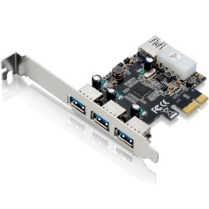 Placa Multilaser Pci Express 480 Mbps 3portas Frontais+1 Porta Traseira USB - GA130
