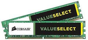 Memória Corsair Value Select 16GB (2x8GB)1600Mhz DDR3 CL11 - CMV16GX3M2A1600C11