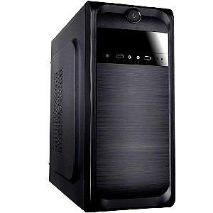 Gabinete Micro ATX Bluecase BG-2511 Preto com Fonte 250W e 2 USB 2.0 Frontal