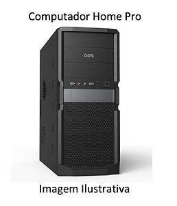 Computador Home Pro Intel Pentium Dual Core Skylake, 4gb DDR4, HD 1 Tera, DVD 24X, Teclado e Mouse