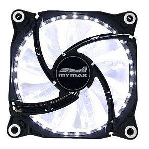 Cooler Fan 12CM P/ Gabinete Mymax Storm 2 LED BRANCO MYC/FC-12025-33WF