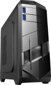 Gabinete ATX Gamer BlueCase BG-023 C/ 2 Baias 2 Coolers e USB 3.0 Frontal