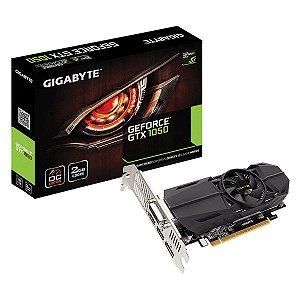 Placa de Vídeo Geforce GTX 1050 OC 2gb GDDR5 - 128 Bits LP Gigabyte N1050OC-2GL