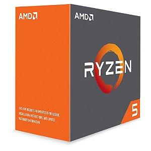 Processador AMD Ryzen 5 1600X 3.6 Ghz (4.0 Ghz Turbo Max) C/ 19Mb Cache SixCore AM4 - YD160XBCAEWOF