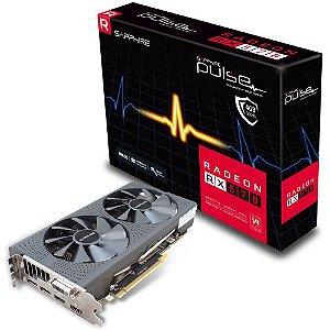 PLACA DE VIDEO SAPPHIRE RADEON PULSE RX 570 4GB 256BITS GDDR5 PCIE 2XDP+2XHDMI+DVID 112660420G