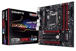 Placa Mãe Gigabyte H270M-Gaming 3 P/ Intel Socket LGA 1151