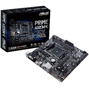 Placa Mãe ASUS PRIME CHIPSET AMD A320M-K/BR SOCKET AM4