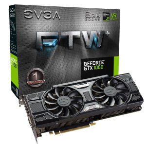 Placa de Vídeo Geforce GTX 1060 FTW 6gb GDDR5 - 192 Bits EVGA 06G-P4-6368-KR