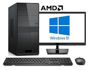 Computador Completo Home Pro AMD FX 8370E, 8gb DDR3, SSD 120gb, HD 1TB, Monitor LED 23.6, Teclado e Mouse Sem Fio