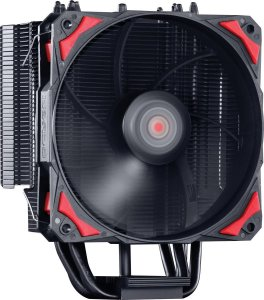 Cooler P/ Processador Universal C/ Fan 12CM PCYES K Z4 Preto - ACZK4120