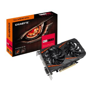 Placa de Vídeo AMD Radeon RX 550 Gaming 2gb GDDR5 - 128 Bits Gigabyte GV-RX550GAMINGOC-2GD
