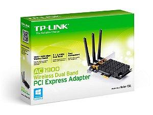 Placa de Rede Wireless PCI Express TP-Link AC1900 Dual Band ARCHER T9E