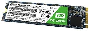 SSD M.2 Western Digital 240gb GREEN WDS240G1G0B-00RC30