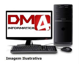 Computador Completo Home Pro Intel Pentium G4400, 4gb DDR4, HD 1 Tera, Monitor LED 18.5, Teclado e Mouse Sem Fio