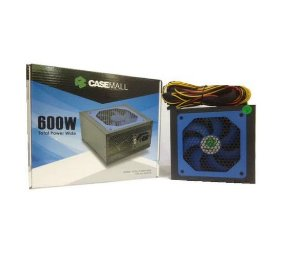 Fonte ATX 600 Watts Potência Real Casemall Total Power Wide ALL-600TPW