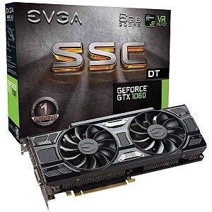 Placa de Vídeo Geforce GTX 1060 SSC 6gbs GDDR5 - 192 Bits EVGA 06G-P4-6265-KR