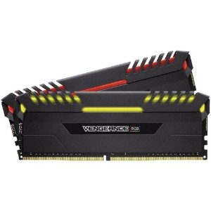 Memória Corsair Vengeance LED RGB 16GB (2x8GB) 2666Mhz DDR4 CL16 Black - CMR16GX4M2A2666C16