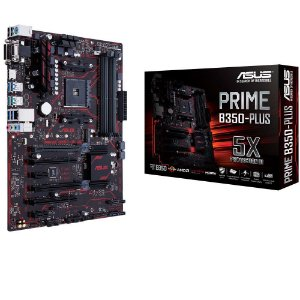 Placa Mãe ASUS PRIME B350-PLUS DDR4 P/ AMD Ryzen Socket AM4