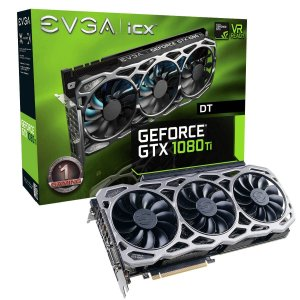 Placa de Vídeo Geforce GTX 1080TI FTW3 Gaming ICX 11gb GDDR5 - 352 Bits EVGA 11G-P4-6694-KR