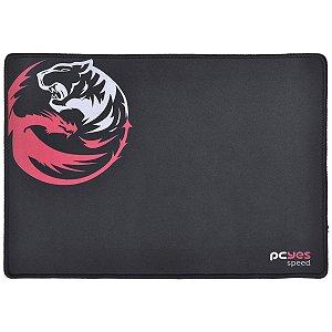 Mousepad Gamer PCYes Dash Speed 355X254X3 M Preto