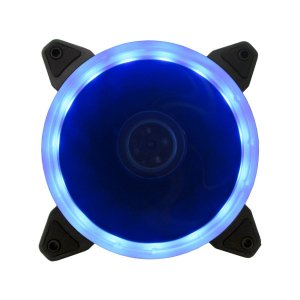 Cooler Fan P/ Gabinete 12CM 1200 RPM BlueCase RING BFR-05B LED AZUL