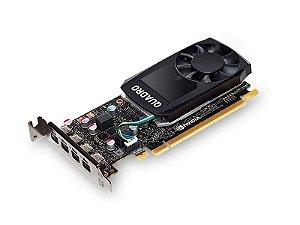 Placa de Vídeo Nvidia Quadro P600 - 2GB GDDR5 - 128 Bits PNY - VCQP600-PORPB