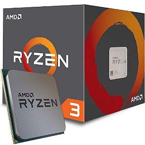 Processador AMD Ryzen 3 1300X c/ Wraith Cooler, Quad Core, Cache 10MB, 3.5GHz (3.7GHz Max Turbo) AM4 - YD130XBBAEBOX