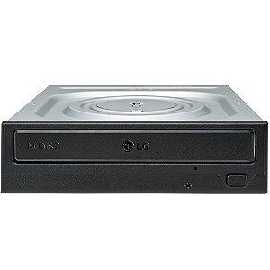Leitor e Gravador de CD e DVD Sata 24X LG GH24NSC0 OEM