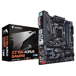 Placa Mãe Gigabyte AORUS GAMING Z370M DDR4 Socket LGA 1151