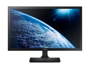 Monitor Samsung Widescreen Full HD, LED 23.6´ VGA e HDMI, Série SE310, Preto - LS24E310HLMZD