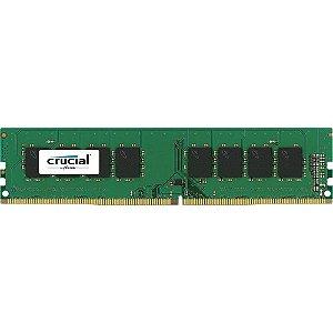 Memória 8GB DDR4 CL17 2400 Mhz CRUCIAL - CT8G4DFS824A (1X8GB)