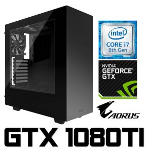 PC Gamer Intel Core I7 Coffee Lake 8700K, 32GB DDR4, SSD M2 250GB, HD 3TB, Geforce GTX 1080TI OC 11GB