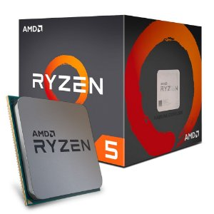 Processador AMD Ryzen 5 1600 3.2 Ghz (3.6 Ghz Turbo Max) C/ 19Mb Cache SIX CORE AM4 - YD1600BBAEBOX