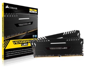 Memória Corsair Vengeance LED White 16GB (2x8GB) 3000Mhz DDR4 CL16 - CMU16GX4M2C3000C16